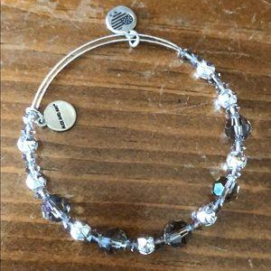 Alex and Ani: Beaded bracelet w/Swarovski crystals